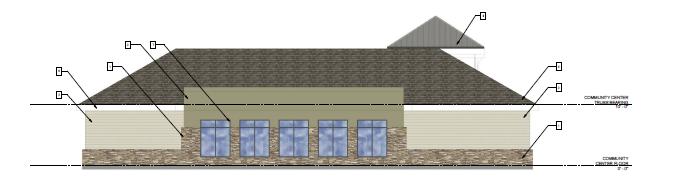 Community Center Rear